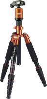 Rollei Compact Traveler No. 1 Stativ Digitale Film/Kameras 3 Bein(e) Schwarz, Orange