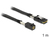 SAS Kabel HD x 4 SFF 8643 Stecker auf Mini SAS x 4 36 Pin SFF 8087 Stecker, 1m, Delock® [83389]