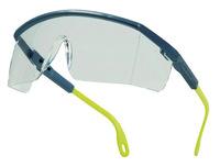 Gafas deltaplus de proteccion policarbonato monobloque incoloro color gris-amarilla uv400