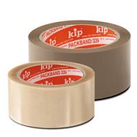 Klebeband, PVC-Packband, braun, Kip 339, Standard-Qualität, 66 m lang, 50 mm breit