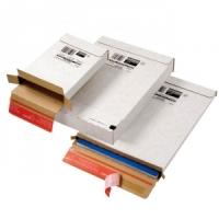 Kurierpaket Versandbox weiß ColomPac® 65.56, 244 x 344 x 45 mm