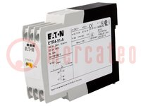 Časové relé; 3s÷60s; SPDT; 250VAC/3A; 24÷240VAC; 24÷240VDC; DIN