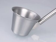 1000ml Scoop stainless steel V2A sterilisable Overall length 1150 mm