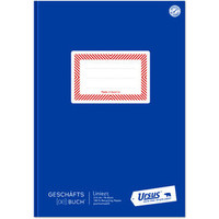 Geschäftsbuch, liniert 9 mm, A4, 80 g/m², 96 Blatt