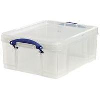 Really Useful Boxes Archiefboxen 17C Transparant Plastic 18 l