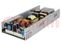 Tápegység: impulzusos; modul; 350,4W; 48VDC; 235,2x101,5x38mm