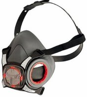 Maska przeciwpyłowa JSP Mas-Force8, wielokrotnego użytku, z zaworkiem, czarny