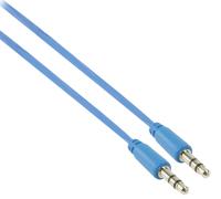 Valueline 1m 3.5mm, M - M audio cable Blue