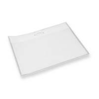 im Format 54 x 85 mm Durable 891919 Ausweishalter f/ür 2 Betriebs-//Sicherheitsausweise Packung /à 10 St/ück transparent