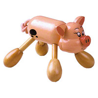 Massage-Schweinchen Massageroller, 9 cm
