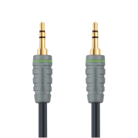 Bandridge BAL3301 audio cable 1 m 3.5mm Blue