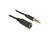 Verlängerungskabel Audio Klinke 3,5 mm Stecker an Buchse IPhone 4 Pin, schwarz, 3m, Delock® [84668]