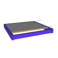 Fußboden mit PVC-Belag