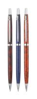 Normalansicht - Latina Kugelschreiber orange marmoriert