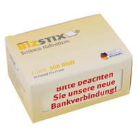 Haftnotizen BIZSTIX Business mit Druck