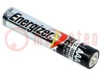 Batterie: alkalisch; 1,5V; AAAA; nicht aufladbar