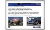 FRANKEN Projektions-/Schreibtafel PRO PLUS, 2.000 x 1.200 mm (70011113)