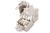 DIGITUS CAT 6 Keystone Modul, geschirmt, 250 MHz gem. ISO/IEC 11801:2002 AM2:2009/09,, werkzeugfreie Montage