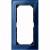 M-PLAN-Echtglasrahmen, 2fach ohne Mittelsteg, Saphirblau
