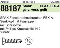 ABC SPAX FEX-A Schr. 3,9x25-H