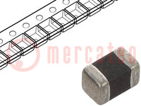 Drossel: Ferrit; SMD; 1008; 2,2uH; 970mA; 0,1Ω; ±20%; ftest:1MHz