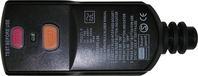 DI-Personenschutzstecker schwarz, für Innenbereich IP54