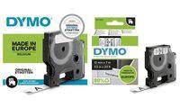 DYMO D1 Schriftbandkassette schwarz/weiß, 9 mm x 7 m (80940913)