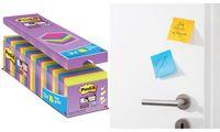 Post-it Haftnotizen Super Sticky Notes, 76 x 76 mm (9006068)