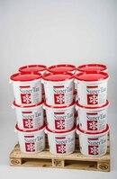 Streusalz, Auftaugranulat, Calciumchlorid, Wirkung bis unter -40°C, 18 Eimer je 25kg, Gesamt 450kg
