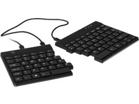 Split Keyboard, (US), blackQWERTY, wired. Windows, LinuxIntegrated numeric keyboard Keyboard