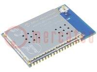 Modul: WiFi; 2,4GHz; SPI; -95dBm; 2,8÷3,6VDC; 16dBm; Szerelés: SMD