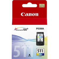 Canon CL-511 Colour Eredeti Cián, magenta, Sárga 1 dB