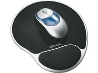 Mouse pad Black/silver Ergonomické prislusenství