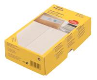 Frankier-Etiketten, Doppel-Etikett, weiss, 128x38mm, 500 Etiketten