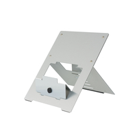 R-Go Riser Flexible Laptop Stand, adjustable, silver
