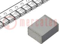 Capacitor: polyethylene; 100nF; SMD; ±10%; 1812; -55÷125°C; 100V/μs