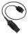 Adapterkabel QD zu SM2 für den Anschluss von Headsets der H-Serie an Siemens DECT-Telefone und Mobiltelefone MO300-SM2
