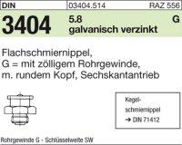 Flachschmiernippel G3/8-22SW22