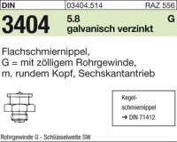 Flachschmiernippel G1/4-22SW22
