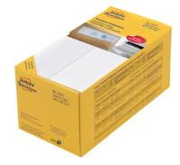 Frankier-Etiketten, Doppel-Etikett, weiss, 163x43mm, 1000 Etiketten