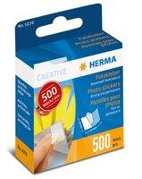 HERMA Fotokleber permanent 500St Kartonspender mit Abziehlasche