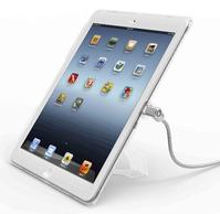 Compulocks iPad Air CB kabelslot Zilver, Transparant