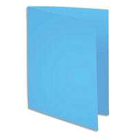 5 ETOILES Paquet de 100 chemises carte recycl�e 180 grammes coloris bleu fonc�
