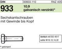 DIN933 M6x45