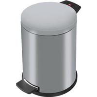 Szemetesvödör pedálos ProfiLine Solid M, 12l, 280x360mm, ezüst