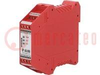 Module: veiligheidsrelais; Serie: CS; Montage: DIN; 24VDC; 24VAC
