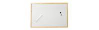 Whitebord, 40 x 60 cm, houten frame