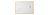 Fakeretes mágnestábla, 30 x 40 cm, fehér