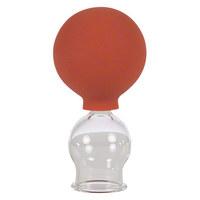 Schröpfglas mit Ball, ø 2,5 cm