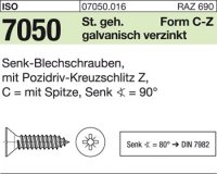 Senk-Blechschrauben 4,2x13-C-Z